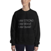 Adults I AM STRONG I AM BRAVE I AM SMART