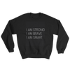 Strong, Brave, Smart kids sweater