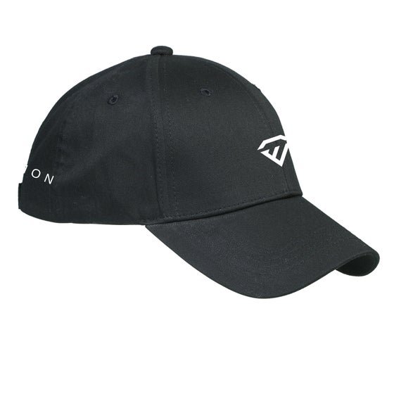 Image of Black Structured Twill Hat-BX020