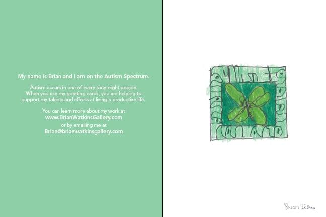 Image of Framed Fruit note card set