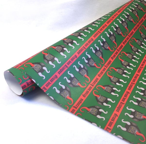 Image of Krampus Wrapping Paper