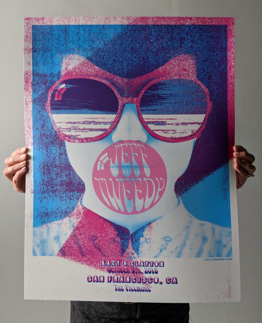 Jeff Tweedy San Francisco, The Fillmore