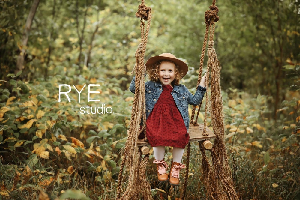 """Image of """"True""""ly Amazing Barn Board, Barn Rope and Rustic Log Swing"""