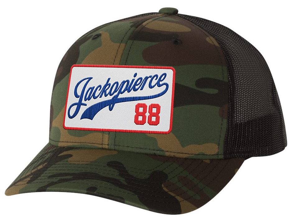 Image of JP Trucker - Green Camo