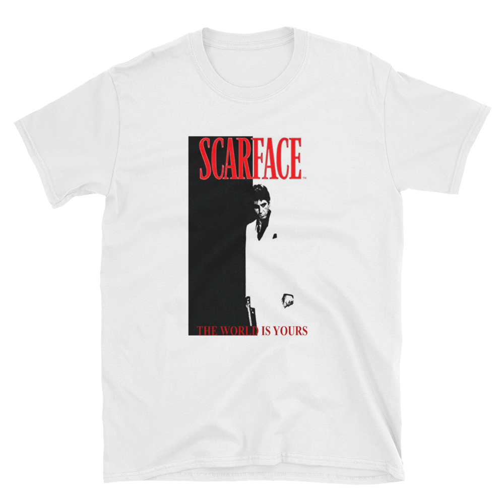 Urban Backwoods Scarface The World is Yours Hommes T-Shirt