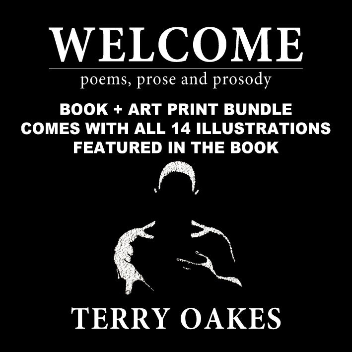 Image of Welcome Book + Art Print Bundle by Terry Oakes