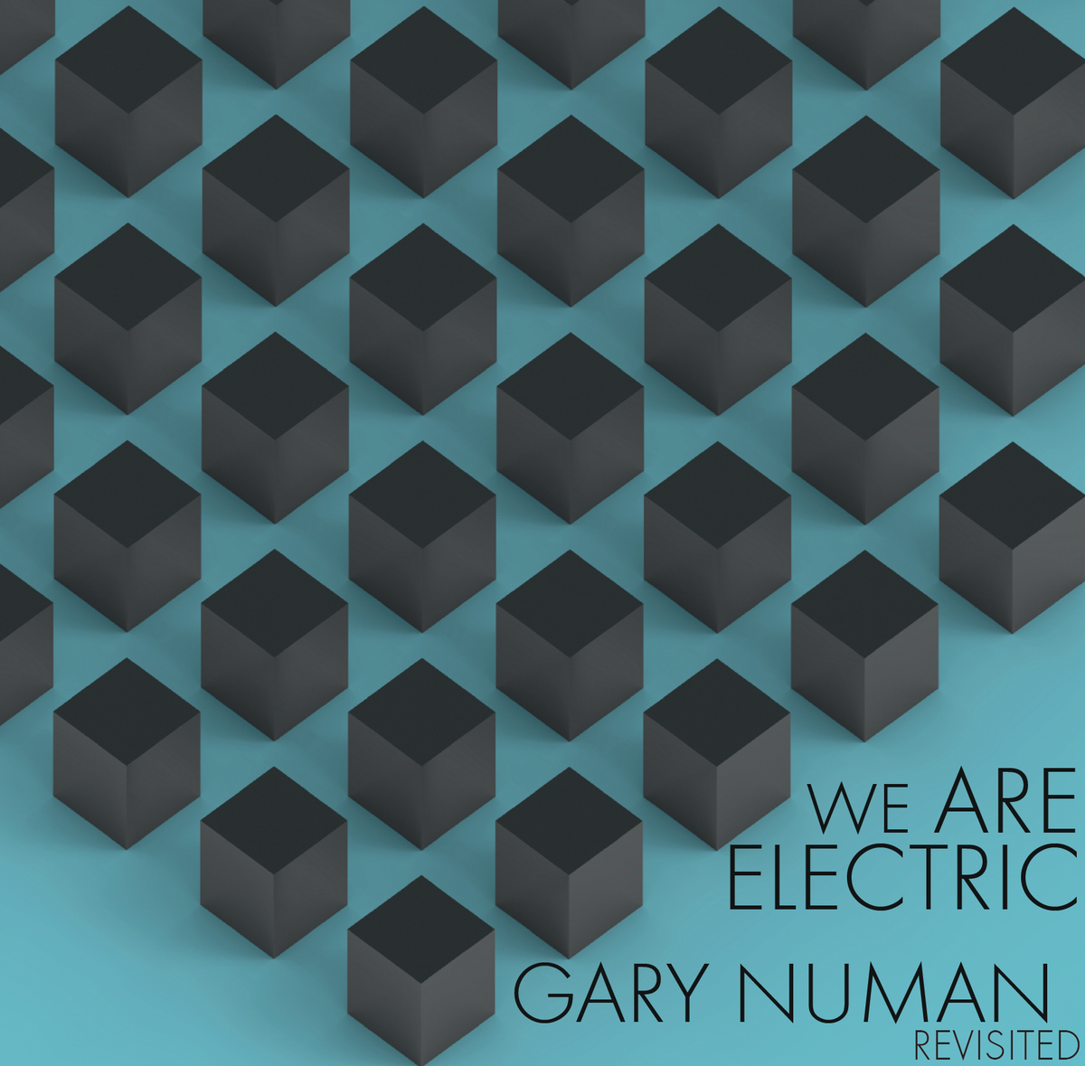 Image of We Are Electric: Gary Numan Revisited (Clear, 2nd press)