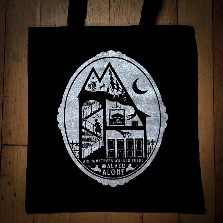 Image of Darkness Within tote bag