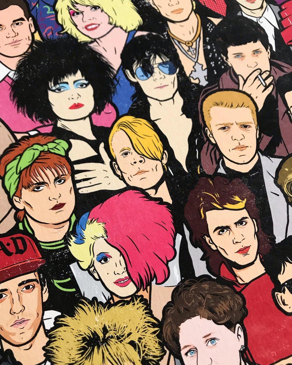 """Saturday Morning New Wave"" Print –16x16"
