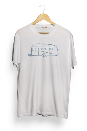 Image of Caravan Tee - Ice Grey