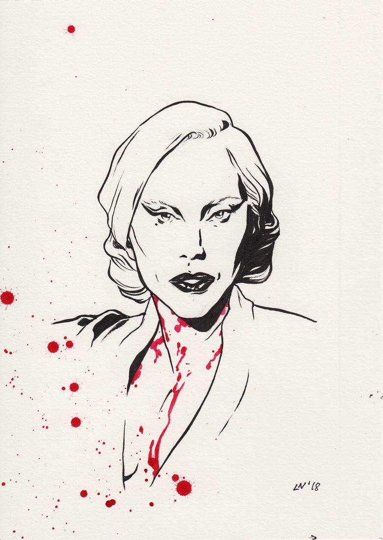 Image of Inktober 2018 - The Countess