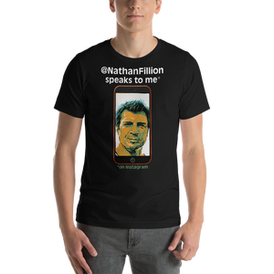 Image of Nathan Fillion Speaks to Me T-shirt