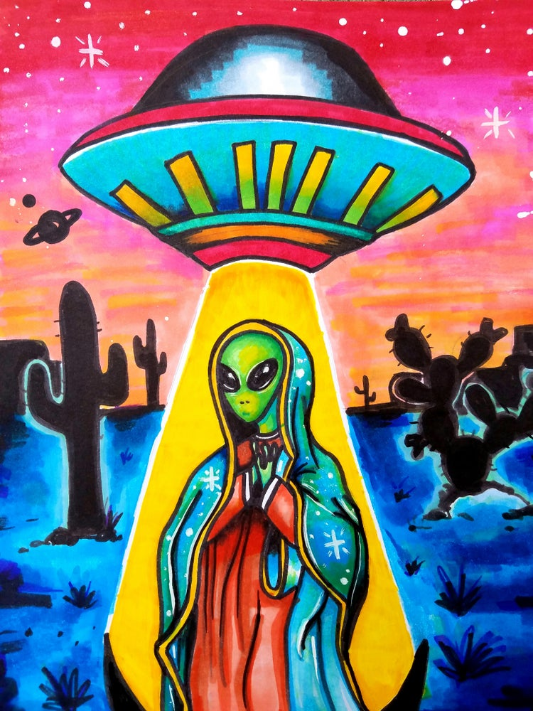 Image of Alien de Guadalupe