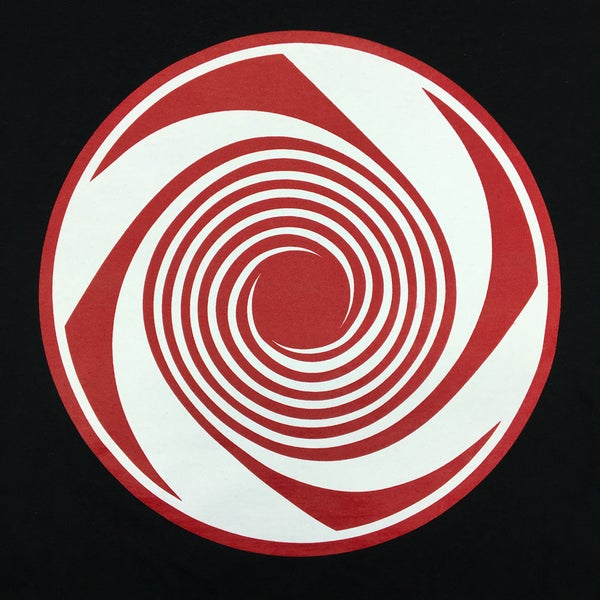 Image of Gong Spiral - Red & White  / Shirt