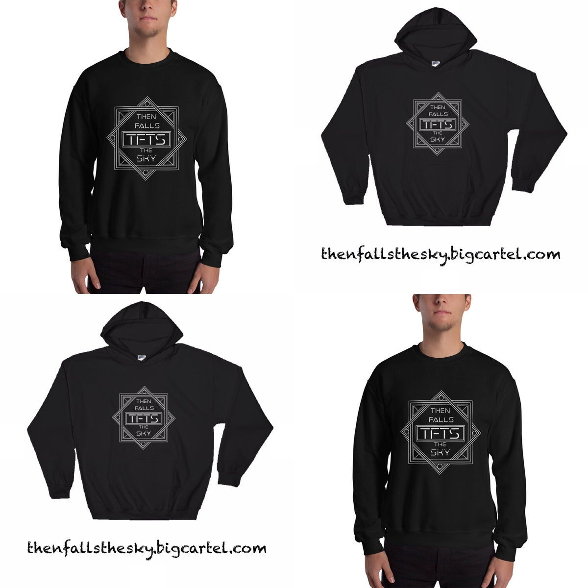 Image of Then Falls The Sky Hooded and hoodless sweatshirt