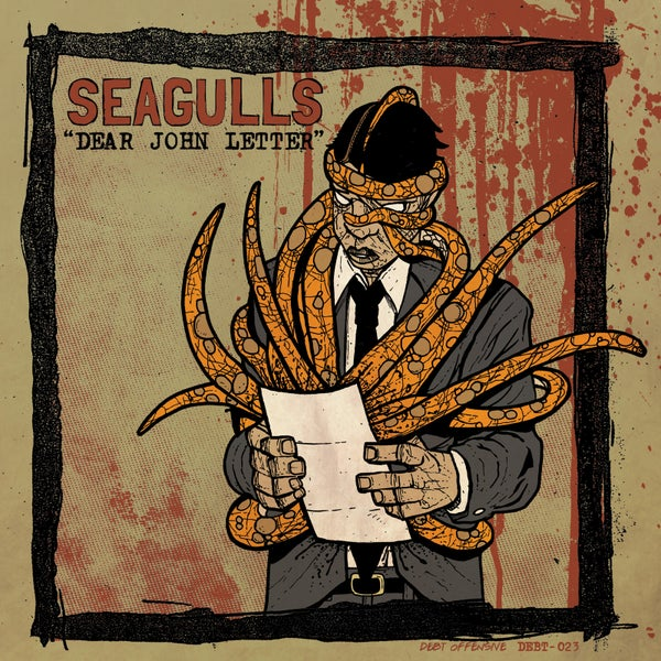 "Image of SEAGULLS ""Dear John Letter b/w Foot, Meet Mouth"" 7"""