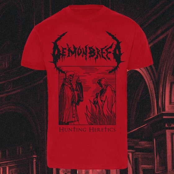 Image of DEMONBREED • HUNTING HERETICS SHIRT