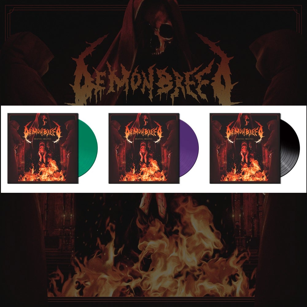Image of DEMONBREED • HUNTING HERETICS (LTD. VINYL)
