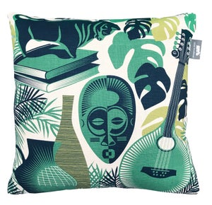 Image of Art Room Cushion - Coach Emerald
