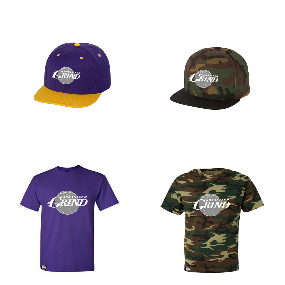 Image of OG Basketball T Shirts & Snapbacks