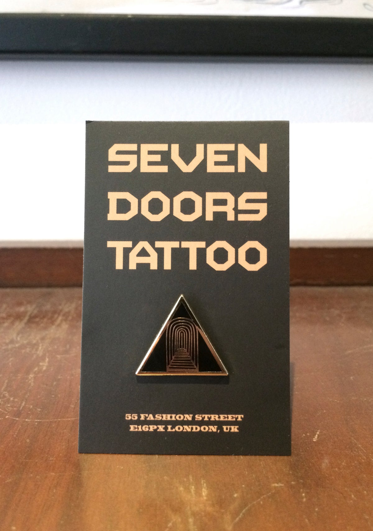 Image of Seven Doors Pin