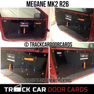 Image of Renault Megane Mk2 Track Car Door Cards - All Options