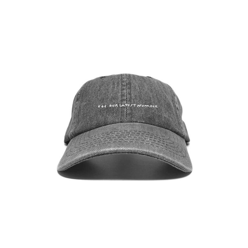 Image of 'Title' Embroidery Cap - Gray<br>*Pre-order