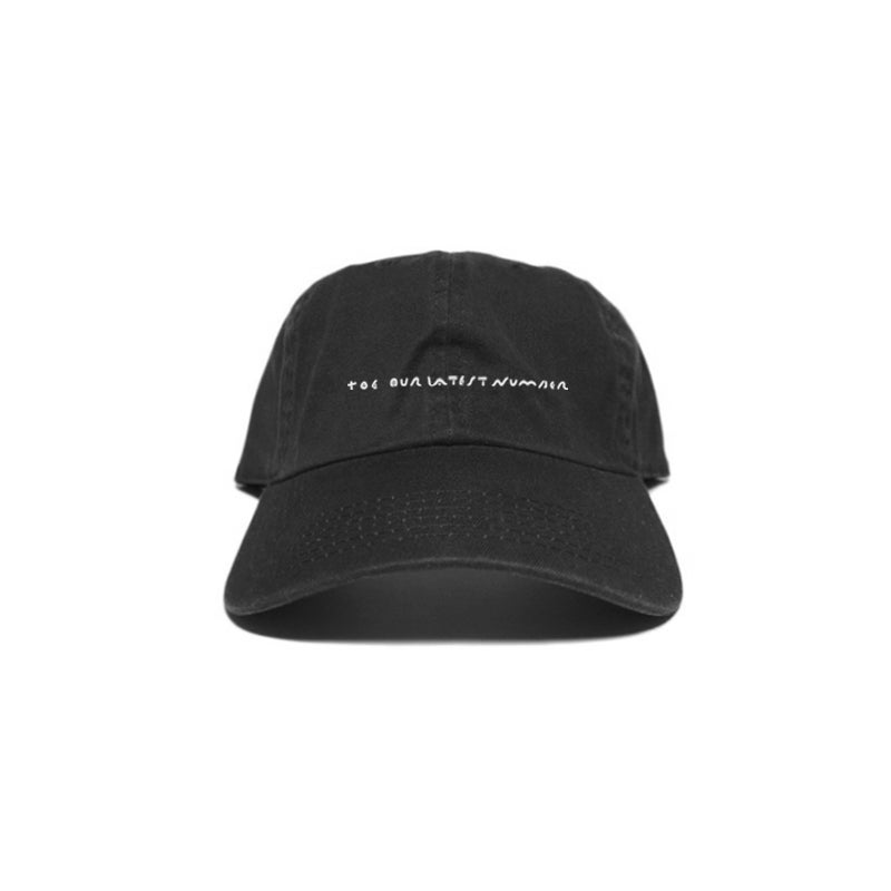 Image of 'Title' Embroidery Cap - Black<br>*Pre-order