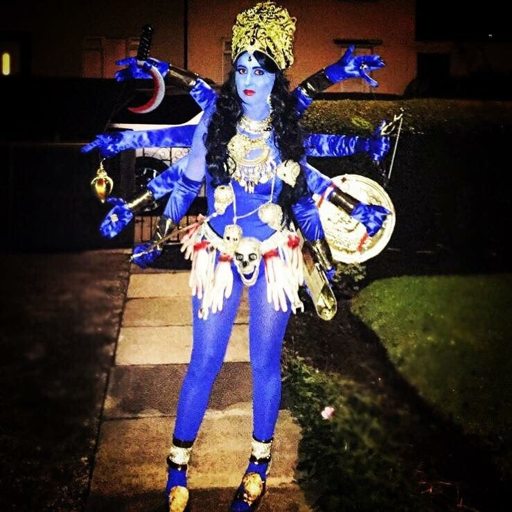Image of Kali 'Hindu Goddess of Death' Costume