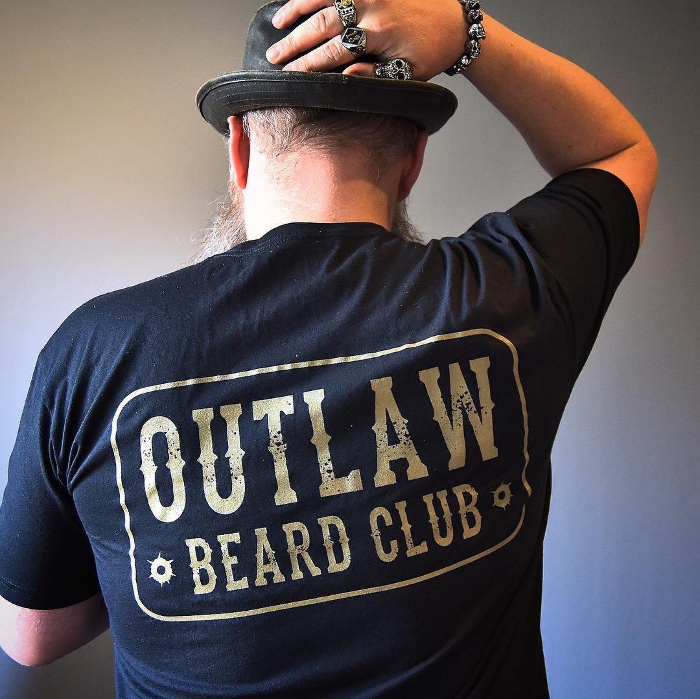 "Image of ""OUTLAW BEARD CLUB"" TEE"