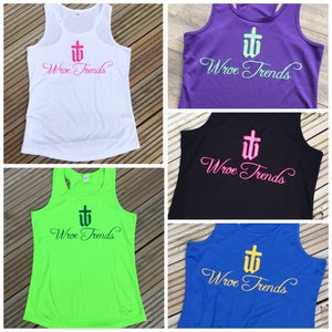 Image of LADIES GYM VESTS • VARIOUS COLOURS