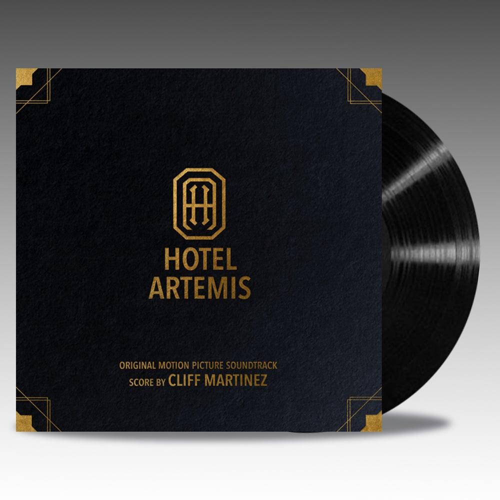Image of Hotel Artemis (Original Motion Picture Soundtrack) 'Black Vinyl' - Cliff Martinez