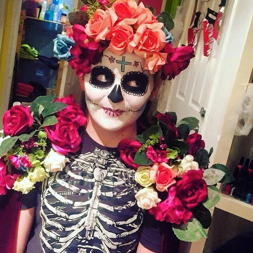 Image of Day of the Dead Accessories for Costume