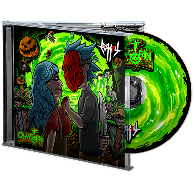 "Image of Lo Key ""Candycorn & Coversongs"" CD"