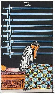Image of Nine of Swords