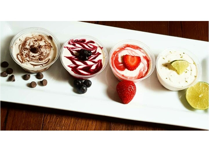 Image of 12 UN-Cheesecake™ Minis 4 Assorted Flavors 3.2oz **LOCAL DELIVERY ONLY**