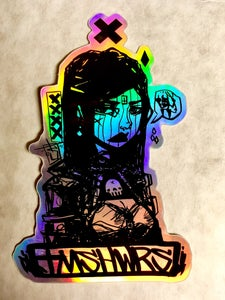 Image of Dark Mage Hellen TMSHWRS hologram sticker