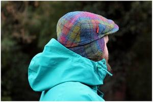 Image of 'VILLAIN' CAP [HARRIS TWEED]