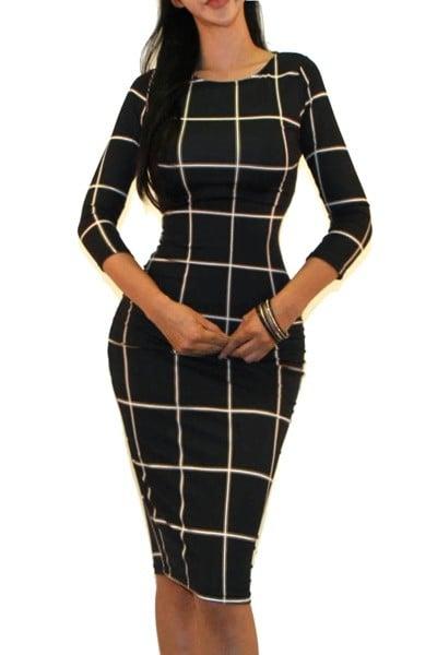 Image of Pattern dress