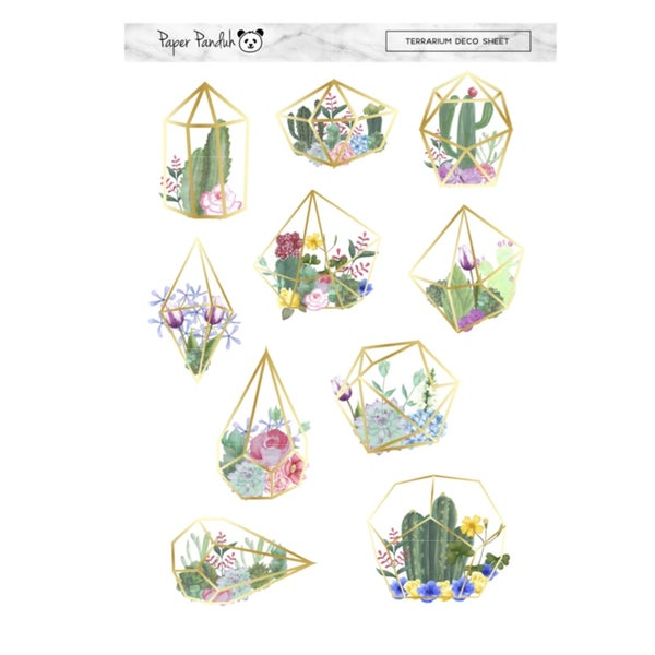 Image of Terrarium Deco Sheet