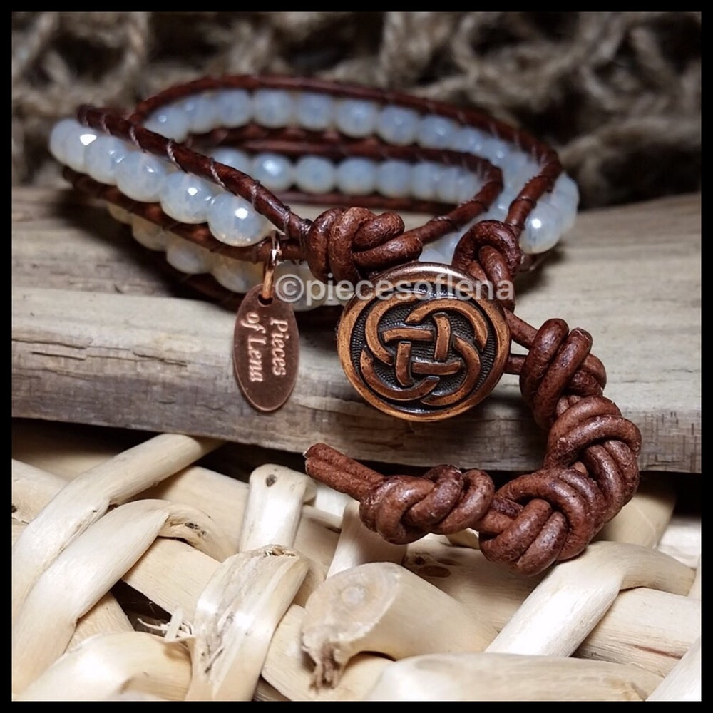 Image of Double Wrap Bracelet - Clearly Celtic