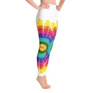 Image of Alaska Tie Dye Yoga Pants