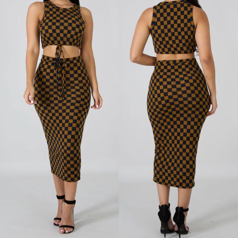 Image of Elena skirt set