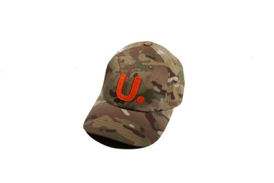 Image of U. Team Logo Multi Camo 6 Panel Cap