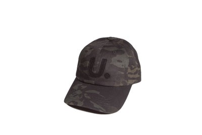 Image of U. League Dark Camo 6 Panel Cap