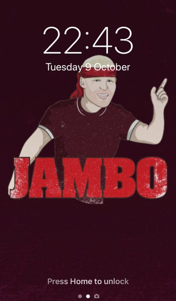 Image of Jambo phone wallpaper