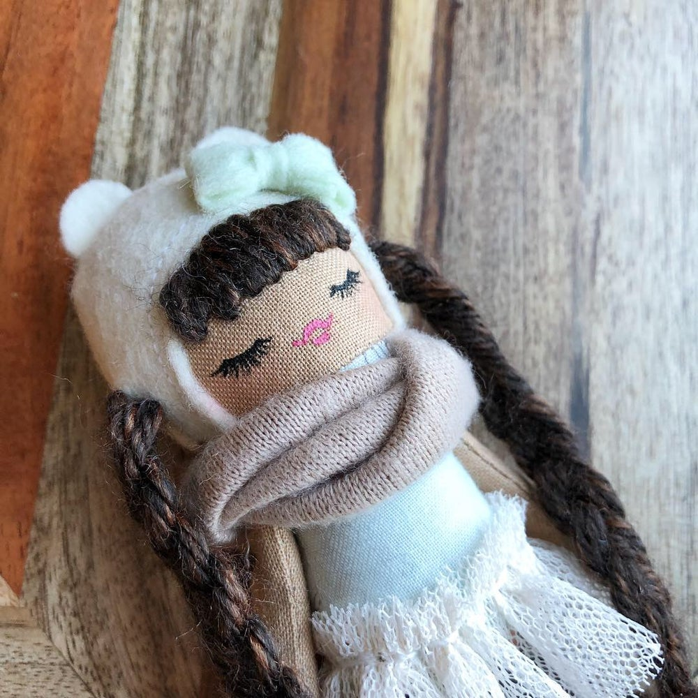 Image of Fall inspired Mini Doll #1