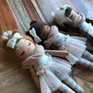 Image of Fall inspired mini doll #2