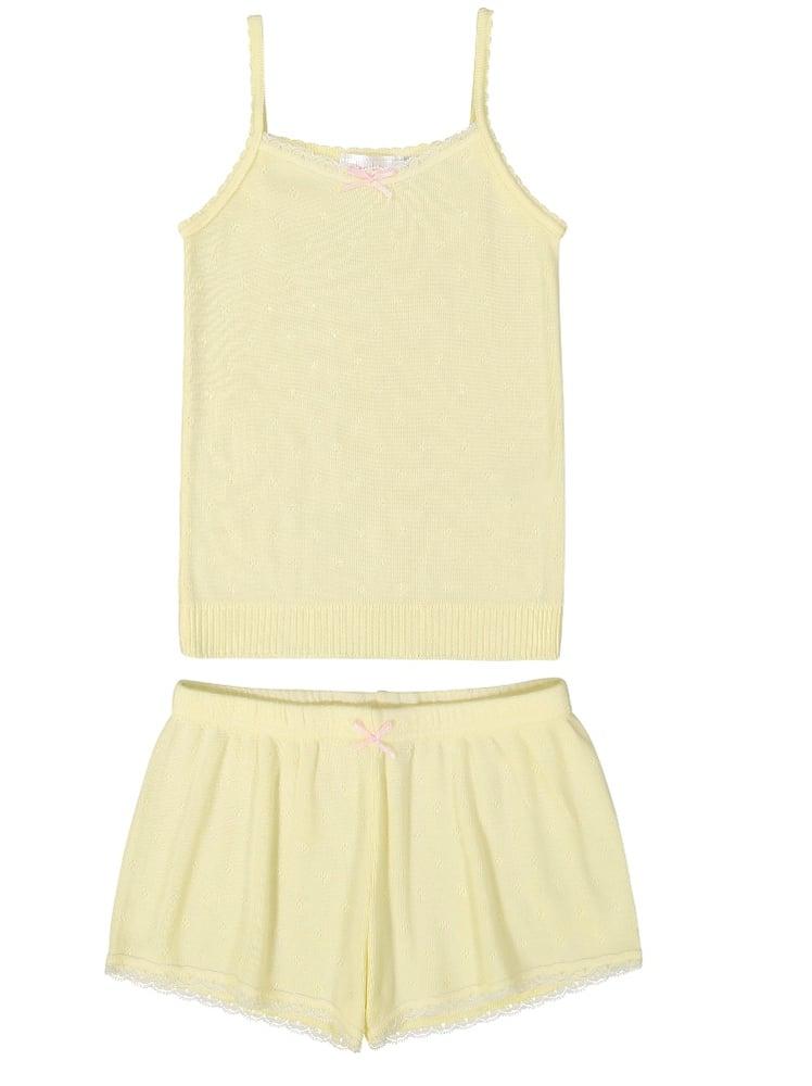Image of Lemon yellow camisole