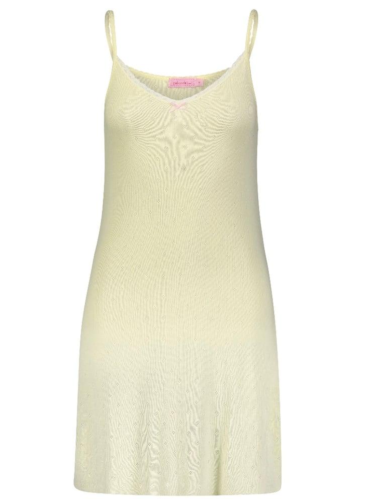 Image of Lemon yellow chemise